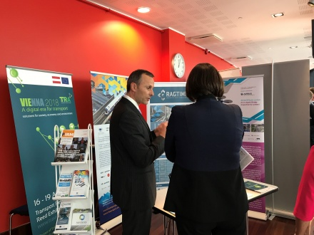 Thierry at Connecting Europe event